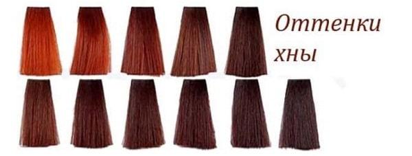 Цвет и тон для окрашивания волос