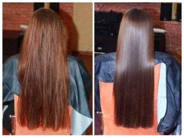 Фото окрашивания длинных волос