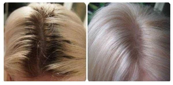 Светлые волосы на короткой стрижке