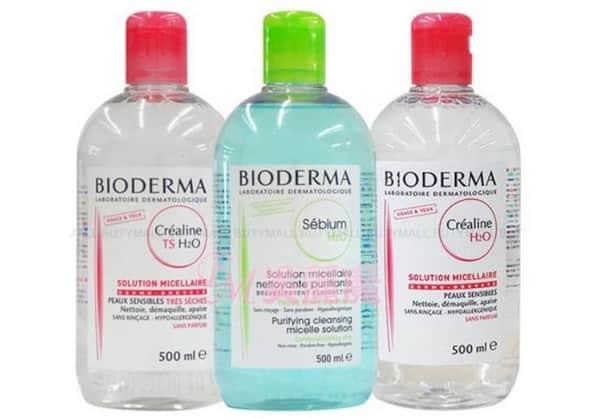 Мицеллярная вода биотерма