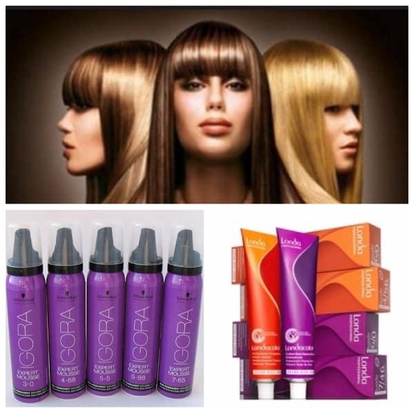 Средства для домашнего тонирования волос