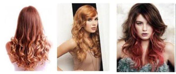 Тонирование волос в рыжий