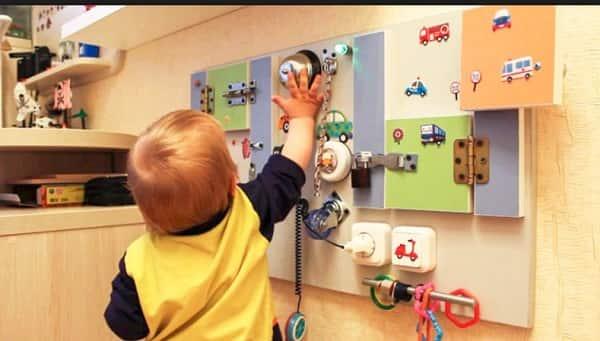 Развитие моторики у малышей
