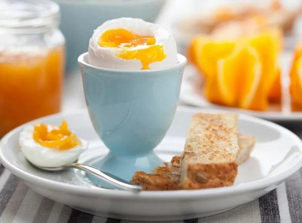 Вареное яйцо для диеты