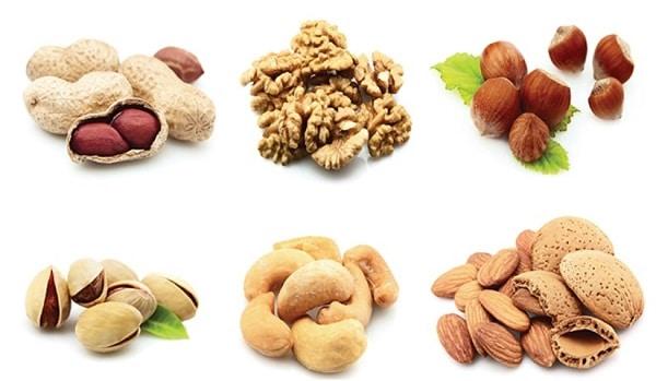 В каких продуктах содержится белок: орехи