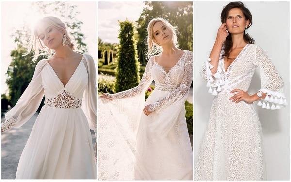 Красивые свадебные платья 2021