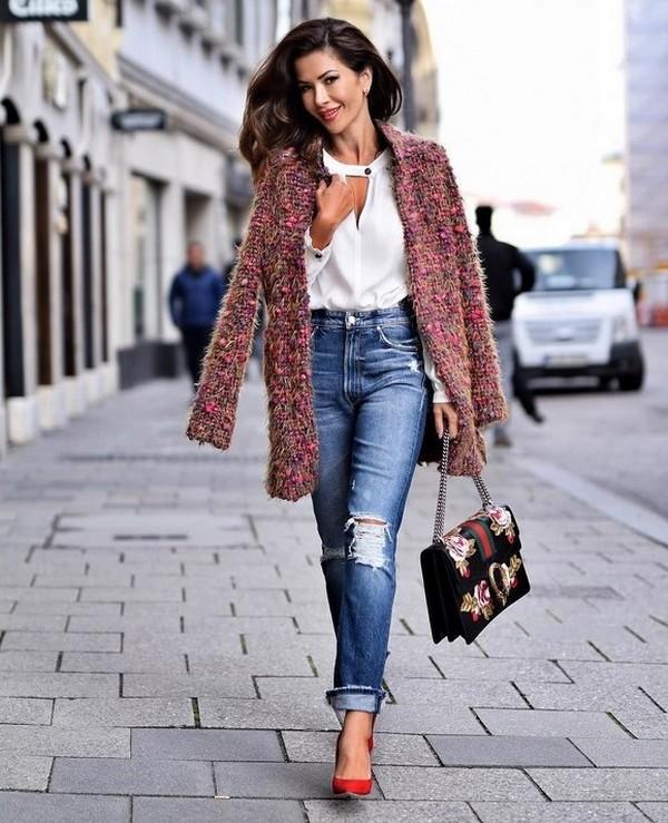 Джинсы мом модные тенденции 2021
